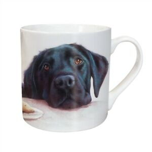 Black Labrador Mug - Ceramic - A Great Gift for a Lab / Dog Lover - New - Boxed