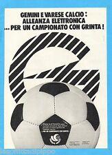 QUATTROR984-PUBBLICITA'/ADVERTISING-1984- GEMINI ELETTRONICA (versione A)