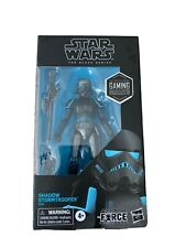 Hasbro Star Wars The Force Unleashed Shadow Stormtrooper Black Series Action Figure""