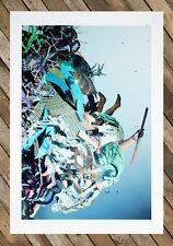 Dustin Yellin print Limited Edition (kaws supreme Jeff koons damien hirst retna)