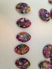 7 Multi Color Mother Of Pearl Bead/Pendant 20X29mm L@@K SALE