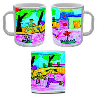Mug Tasse personnalisée avec le dessin ou le coloriage de votre enfant