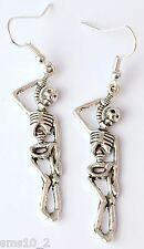 HAND MADE Appeso Orecchini scheletro hce0310