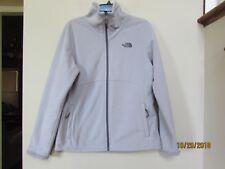 THE NORTH FACE Size L Women Morningside Full Zip Jacket Lavender Purple Fleece