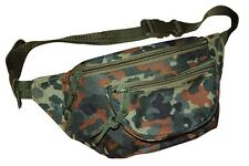 Nuevo bolso barriga cinturón BOLSO CAMUFLAJE Doggy Bag negro marrón verde Tarn Army