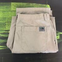 The North Face Pants Mens Size 38 Khaki Tan Beige Straight Leg Carpenter Style