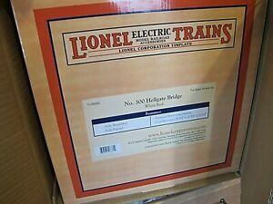 Lionel 11-90002 #300 White & Red Tinplate Hellgate Bridge ~ Brand New in box