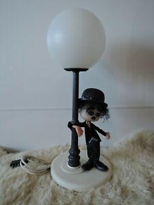 Vintage Nuova Linea Zero Made in Italy Charlie Chaplin Table Lamp
