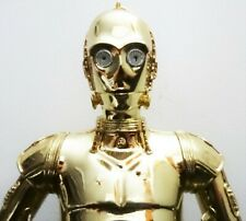 GENTLE GIANT STAR WARS C-3PO GOLD-PLATED COLLECTIBLE BUST STATUE FIGURE SIDESHOW