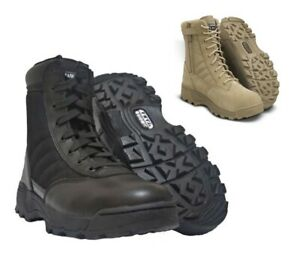 Mens American Army Combat Military Swat Boots Work Police Hiking Cadet Outdoor