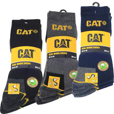 CAT Caterpillar 41-45 Arbeitssocken 3 Paar - Schwarz