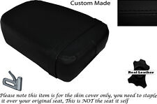 BLACK STITCH CUSTOM FITS KINROAD XT 125 16 REAR LEATHER SEAT COVER ONLY