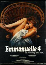 affiche du film EMMANUELLE 4 40x60 cm