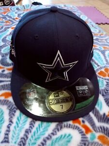 Dallas Cowboys New Era Fitted Cap Size 7 With Dez Bryant #88 Stitching