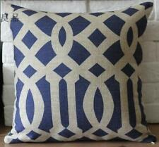 Vintage Designer Geometric linen cushion cover Home Decor pillow case 45cm*45cm