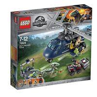 Lego® Jurassic World 75928 Persecución en helicóptero de Blue - New and seale