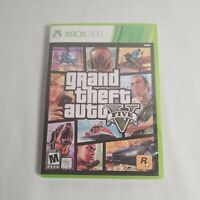 Microsoft XBOX 360 Game Grand Theft Auto V With Map