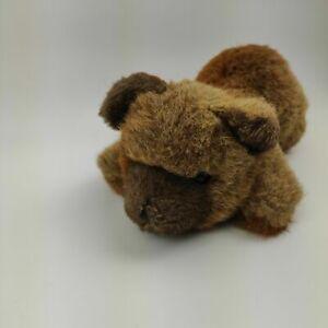 Sigikid Kuscheltier Bär braun liegend ca. 25cm Stofftier RAR Sammler