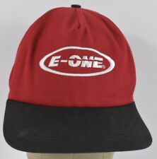 Red E-One Emergency One Logo Embroidered Baseball hat cap Adjustable Snapback