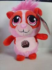 "Russ Yummy Luvvies Peepers Pink 5"" Chocolate Scented Panda Plush Valentines Day"
