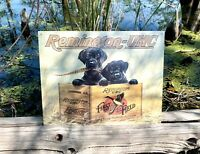 Remington Finder's Keepers Vintage Metal Tin Sign Wall Decor Garage Man Cave Gun
