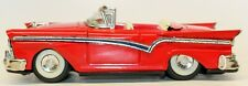 VINTAGE JAPANESE TIN FRICTION 1957 FORD FAIRLANE 2-DOOR CONVERTIBLE