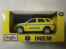 MAISTO BMW X5 INEM (Portuguese medical emergency) 1/42 limited edition - NEW