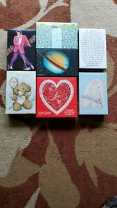 7 Springbok vintage mini puzzles