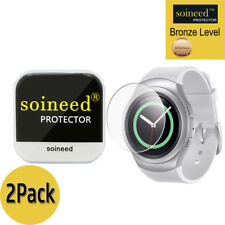 [2-PACK] SOINEED Tempered Glass Screen Protector For Samsung Gear S2 R730