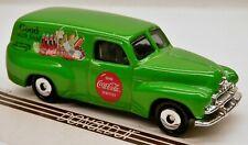 Matchbox 1950s Holden FJ Panel Van Green COKE Coca-Cola 1:58 Scale