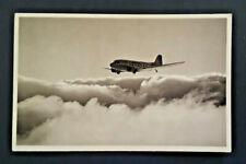 Mint Vintage American Airlines Flagship Fleet In Flight AA Logo Postcard