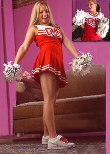 Lynn Patter's Cheerleading Uniform CHEERLEADER Skirt & Top LOVELY Sports MODEL