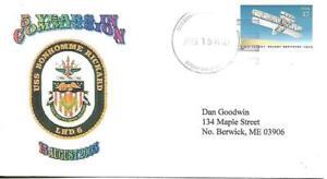 BONHOMME RICHARD (LHD-6) 15 Aug 2003 5th Anniversary Goodwin Cachet