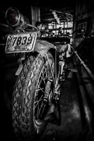 12x18 in. Motorcycle Poster, Vintage Harley Davidson Garage Art Man Cave