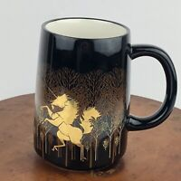 Vtg Otagiri Unicorn Coffee Cup Mug Hand Crafted Hand Painted Original Japan