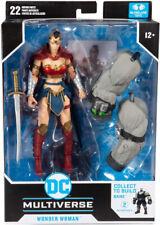 McFarlane DC Multiverse Last Knight On Earth Wonder Woman Build A Bane Figure
