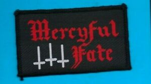 Mercyful Fate vintage 1980s SEW ON PATCH