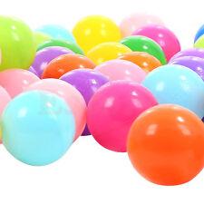 10 pcs Swim Colorful Ball Fun Ball Soft Plastic Ocean Ball Baby Kid Toy Pit Toys