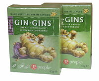 The Ginger Gente GINEBRA Gins ORIGINAL Jengibre CHICLES 2x42g - Sin Gluten