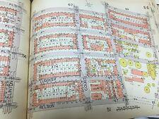 1929 E. BELCHER HYDE PARK SLOPE GOWANUS BROOKLYN UNION GAS NEW YORK ATLAS MAP