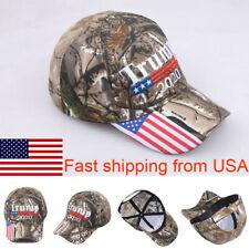 2019 Donald Trump 2020 Cap USA Flag Camouflage Baseball Cap Hat Make Great Hot