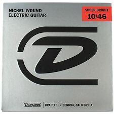 Jim Dunlop Super Bright Nickel Wound Guitar Strings 10-46