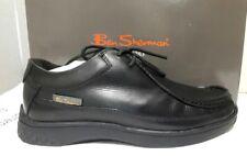 NEW Ben Sherman Ferdy Boys Leather Shoes, Black - UK 3 / EU 36
