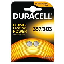 Duracell Silver Oxide 357/303 Battery