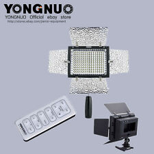 Yongnuo YN-160 II LED Video Light RC MIC+ 4 colour filters  For canon nikon sony