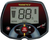 Original Teknetics Eurotek PRO (LTE) Metalldetektor Metallsuchgerät Metallsonde