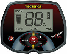 Teknetics Eurotek PRO (LTE) Metalldetektor Metallsuchgerät Metallsonde