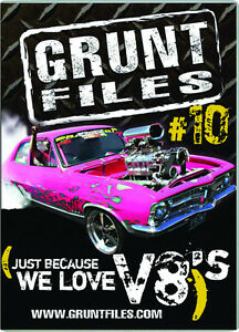 Grunt Files #10 Car DVD - Just because we love V8's...