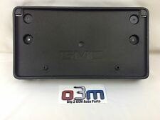 GMC Acadia Front Bumper License Plate Mounting BRACKET new OEM 22757027