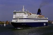 793086 P O European Ferries Pride of Bilbao dejando Portsmouth Harbor Reino Unido A4 Pho